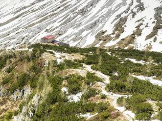 Italy, Alto Adige, Sexten Dolomites, Hochpuster Valley, Nature Park Tre Cime, Rifugio Berti - STSF001038