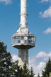 Switzerland, Zurich, Communication tower Uetliberg - BZF000298