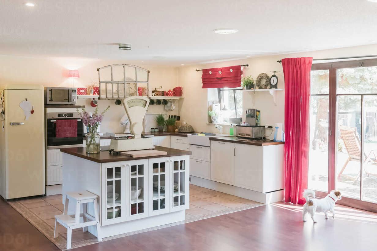 Open plan kitchen with kitchen island - MJF001828 - Jana Mänz/Westend61