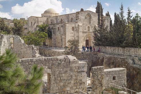 Israel, Jerusalem, Church of St. Ann and Pool of Bethesda - HWOF000141