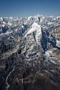 Nepal, Himalaya, Solo Khumbu, Taboche Peak from Ama Dablam South West Ridge - ALRF000598
