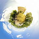 Germany, Hambach, Hambach Castle, montage - PU000560