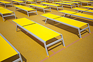 Sun loungers on ship deck - KLRF000402