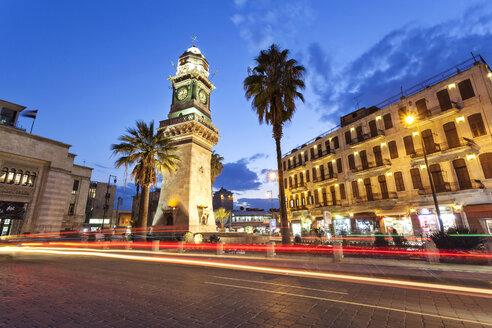 Syria, Aleppo, Bab al-Faraj clock tower - FPF000083