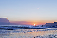 New Zealand, North Island, East Cape region, Te Araroa at sunrise - GWF004773