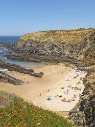 Portugal, Alentejo, Zambujeira do Mar, Praia dos Alteirinhos - LAF001692