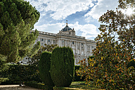 Spain, Madrid, Gardens and the Royal Palace - KIJ000500