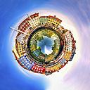 Denmark, Copenhagen, Nyhavn, spherical panorama - PUF000566
