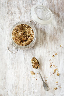 Homemade crunchy muesli, oat, amaranth and linseed - EVGF002988