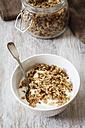Homemade crunchy muesli, oat, amaranth and linseed - EVGF002991