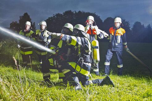 Fire brigade in action - MAEF011882