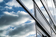 Reflection, window, clouds and sky - TAMF000537
