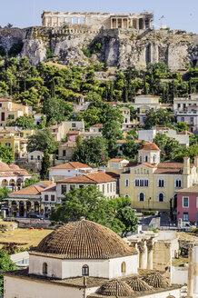 Greece, Athens, View to Acropolis - THAF001609