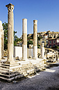 Greece, Athens, Roman Agora, columns - THAF001612