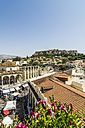 Greece, Athens, Monasteraki Square, Acropolis in the background - THAF001624