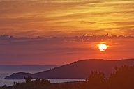 Croatia, Hvar Island, Glavia mountain at sunset - GFF000679