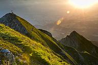 Austria, Tyrol, Nockspitze at sunrise - MKFF000324