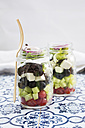Greek salad in glasses - LVF005157