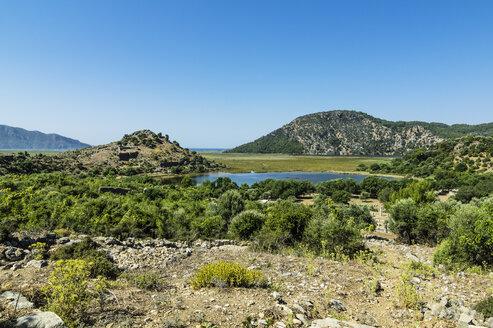 Turkey, Dalyan, ancient city Kaunos - THAF001643