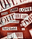 'Love' in different types and languages - CMF000524