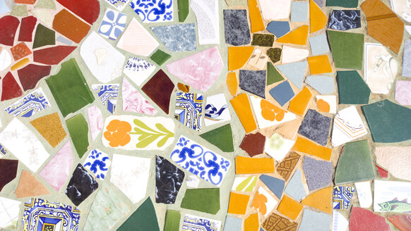 Mosaic, tiles, multiple exposure, Formentera, Spain - CMF000525