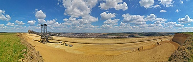Germany, North Rhine-Westphalia, Grevenbroich, Garzweiler surface mine, Panorama - FR000443