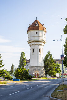 Austria, Wiener Neustadt, water tower at Suedtiroler Platz - AIF000349