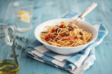 Bowl of Spaghetti alla Pizzaiola - IPF000318