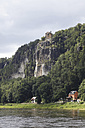 Germany, Saxony, Elbe Sandstone Mountains and Elbe river - JTF000769