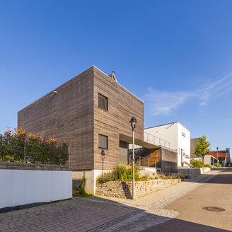 Germany, Esslingen-Zell, development area with passive houses - WDF003698