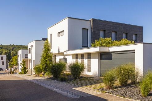 Germany, Esslingen-Zell, development area with passive houses - WDF003704