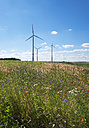 Germany, Middle Franconia, Wind park near Grosshabersdorf - SIEF007080
