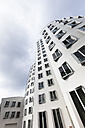 Germany, Duesseldorf, New Zollhof, Facades of the Gehry Houses - FC001005