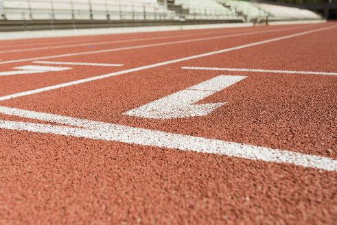Tartan track, numbers - FMOF000098