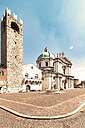 Italy, Brescia, view to Broletto and New Cathedral - CST001099