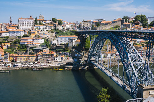 Portugal, Oporto and Douro river and Arrabida bridge - GIOF001398