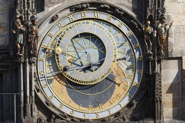 Prague, Town hall tower, astronomical clock - GF000717