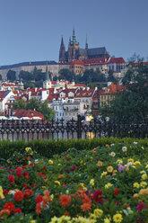 Czech Republic, Prague, Prague Castle and St. Vitus Cathedral, Vlatva river - GFF000732