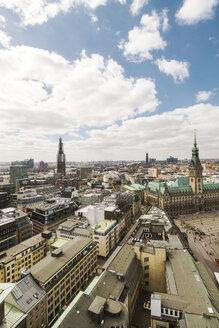 Germany, Hamburg, Town hall and St. Pauli - TAMF000546