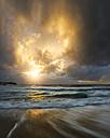 Australia, New South Wales, Sydney, beach at sunset - GOAF000010