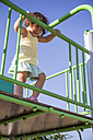 Little girl on playground - ABZF000982