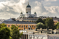 Finland, Helsinki, Old town, Helsinki Cathedral - CSTF001154
