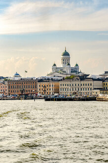 Finland, Helsinki, South harbour, Helsinki Cathedral - CSTF001166