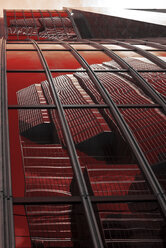 Canada, Ontario, Toronto, Bank of Montreal, red reflection, facade - FC001063