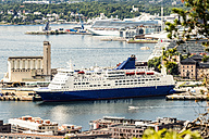 Norway, Oslo, Cruise liners at the harbour - CSTF001175