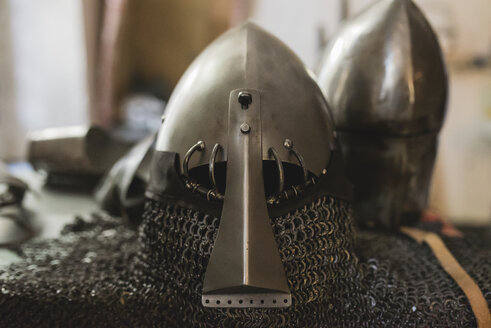 Helmets of a knight's armor - FMOF000116