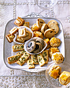 Selection of various Christmas Cookies - PPXF000006