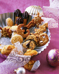 Selection of various Christmas Cookies - PPXF000009