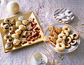 Selection of various Christmas Cookies - PPXF000012