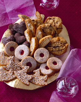 Selection of various Christmas Cookies - PPXF000015